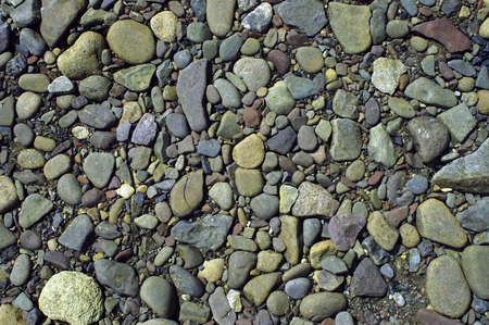 River Cobble - Background - Lehigh River