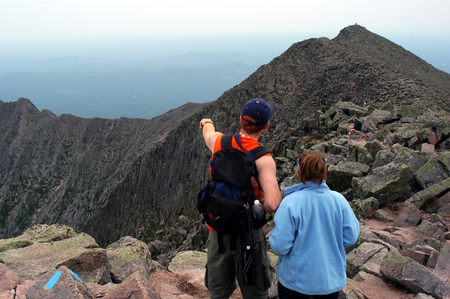 Knife Ridge - Mt. Katahdin