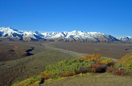 Savage River - Alaska Range Stock Photo