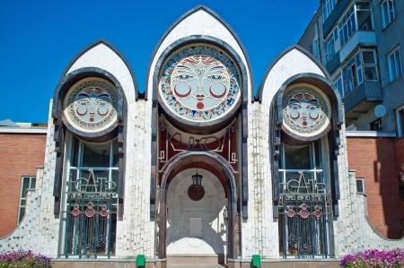 novosibirsk: Puppet theater in Novosibirsk