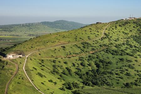 golan: Sunny Slope at Golan Heights, Israel