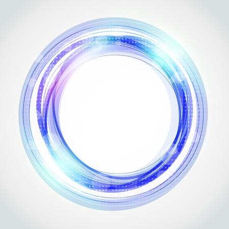 サークルの抽象的な背景  イラスト・ベクター素材
