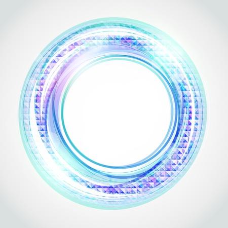 抽象的な円形の背景