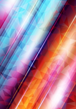 Abstract vector shiny with shiny lines