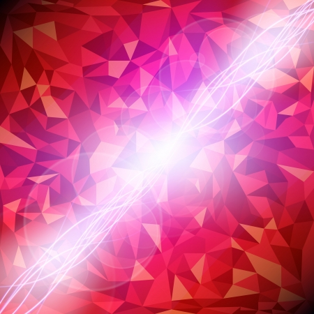 Abstract vector red diamond background   Vector