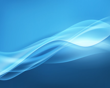 abstract waves background: Abstract Blue Vector Waves Background. Vector Illustration