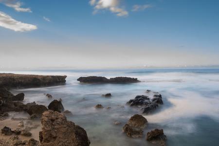 Ocean at Kaena Point Reklamní fotografie