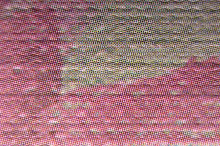 Close-up of a fragment of an imitation of oil painting. Background from a printout of oil paintings.