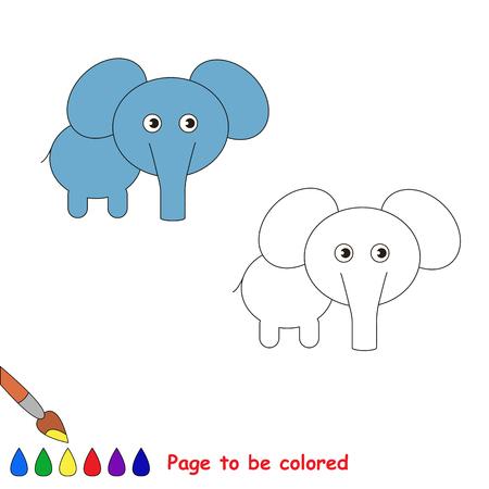 Página A Ser Color. Pequeño Niño Y Amiga Jugando En Las Pompas De ...