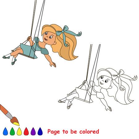 Una Pequeña águila. Página A Ser Color. Libro Para Colorear Para Los ...