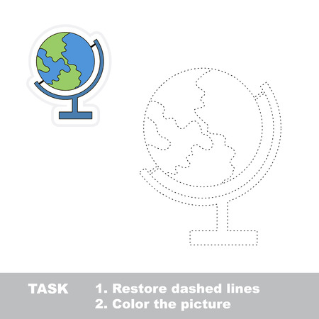 restore: Restore dashed line and color globe by sample.