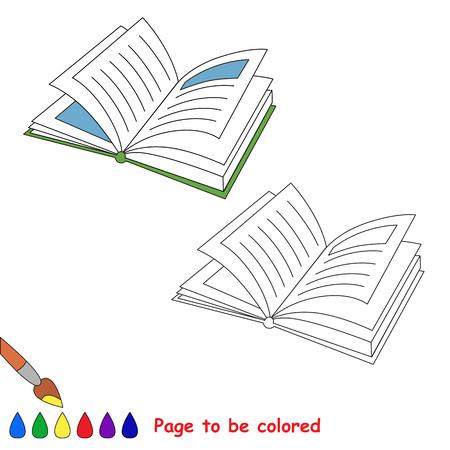 Vector De Dibujos Animados De Cisne Para Colorear. Libro De ...