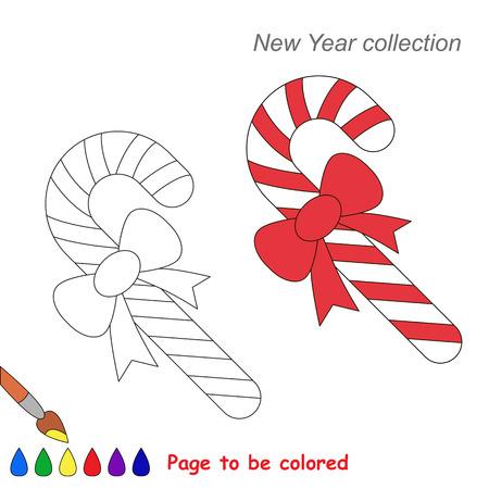 Bastones De Navidad Para Colorear. . Dibujos Disney Navidad Para ...