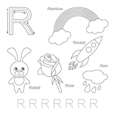 Ausgezeichnet Buchstaben R Arbeitsblatt Für Kindergärten Ideen ...