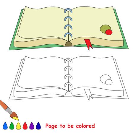 Arco Iris A Ser De Color. Libro De Colorante Para Los Niños. Juego ...