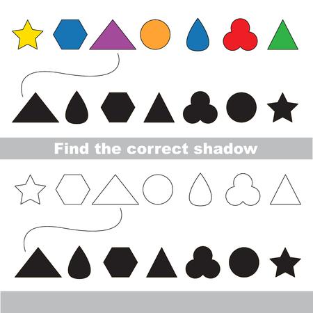 Formas Y Formas Geométricas Configuradas Para Ser Coloreadas, El ...