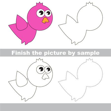 Zeichnung Arbeitsblatt Fur Kinder Beenden Sie Das Bild Und Ziehen