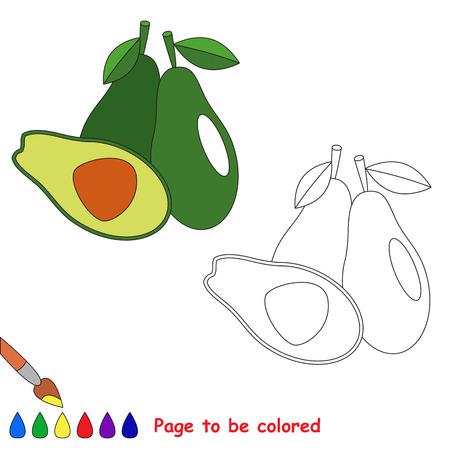 Grosella Negra A Colorear. Libro De Colorante Para Los Niños. Juego ...