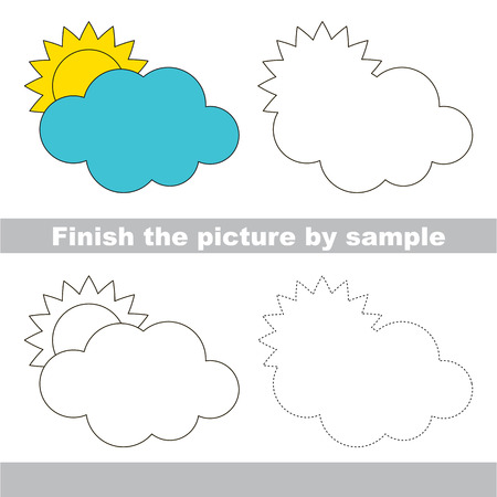 Fine Arbeitsblatt Auf Wolken Elaboration - Kindergarten Arbeitsblatt ...