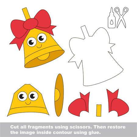 Paper kid game. Easy application for kids.
