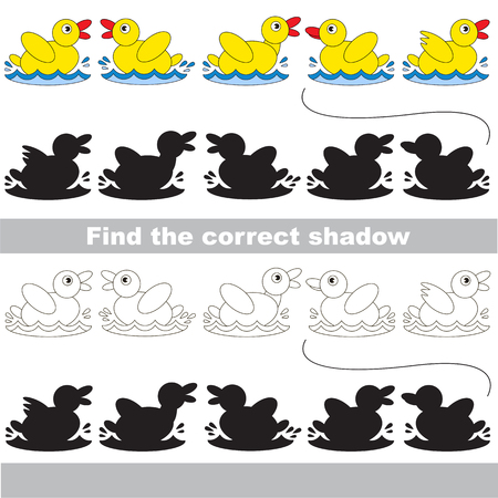 small group of objects: Find correct shadow for each object, the kid game.