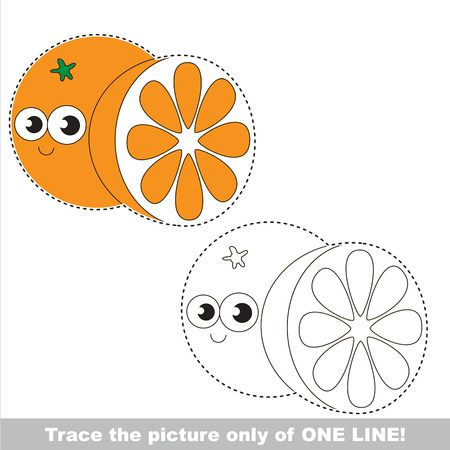joining the dots: Page to be traced, kid one line tracing educational game.