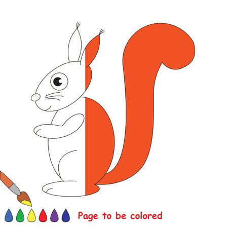 Stellen Sie Gestrichelte Linie Wieder Her Und Färben Sie Das Bild ...
