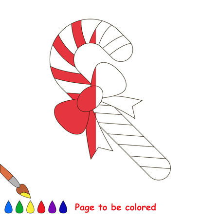 Cristmas: Page to be colored.