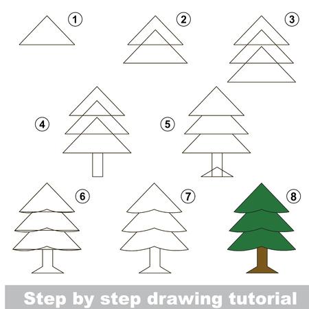 tutorial: Drawing tutorial. Illustration