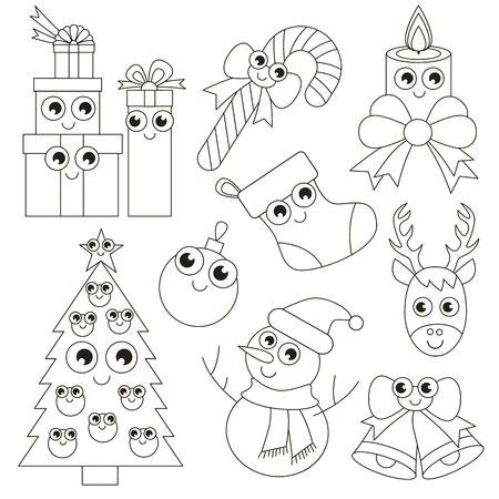 Conjunto De Vacaciones De Navidad Para Colorear, El Gran Libro Para ...