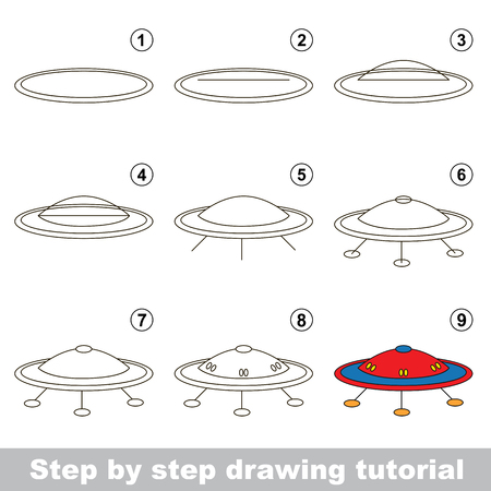 Kid game to develop drawing skill with easy gaming level for preschool kids, drawing educational tutorial for Flying Sausage