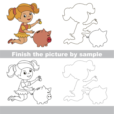 Drawing worksheet for preschool kids with easy gaming level of drawing worksheet for preschool kids with easy gaming level of difficulty simple educational game for ibookread ePUb