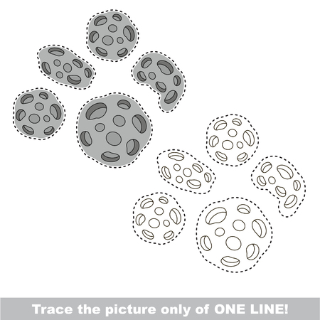 meteorites: Meteorites. Dot to dot educational game for kids. trace only of one line.