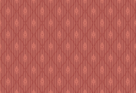 Pattern in a retro style Vector
