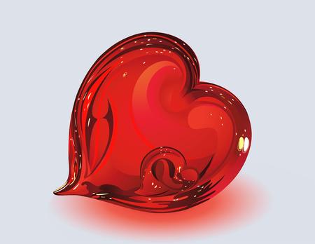 cardioid: Dos corazones de vidrio