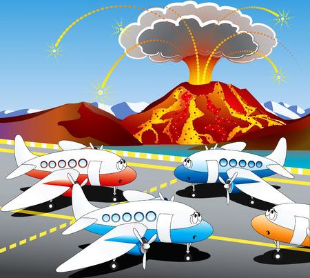ash cloud: Iceland volcano