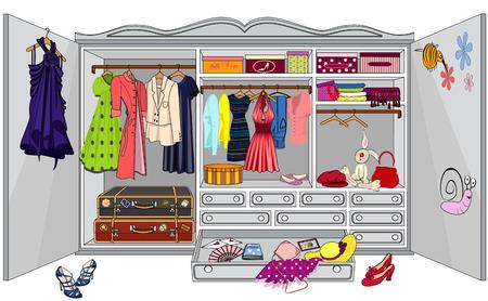 shoe shelf: Wardrobe