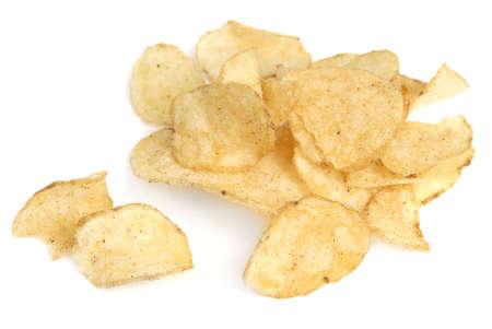 grasas saturadas: profundas fryed papas fritas, sal y alimentos picantes  Foto de archivo