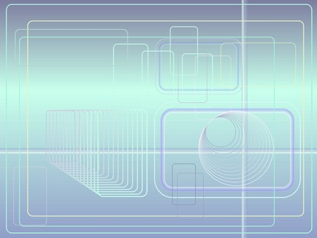 Abstract technolodical background Stock Vector - 8202228