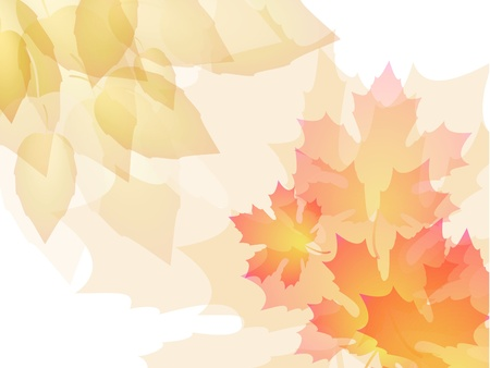 Abstract  leaves background Stock Vector - 8356351