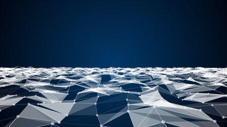 plexus: Abstract technology and science background futuristic network, plexus background. Stock Photo