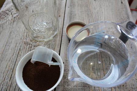 Cold brewed coffee ingredients