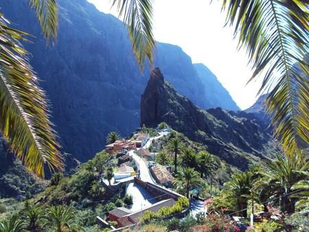 mountaintop: mountaintop village Stock Photo