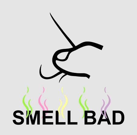 bad breath: Bad smell