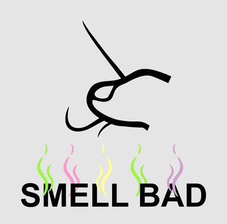 olfato: Mal olor