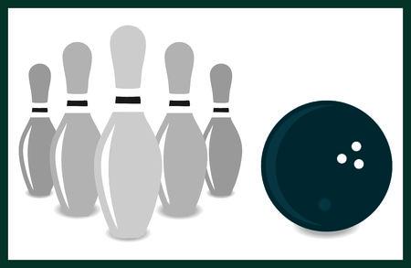 bowling strike: BOWLING
