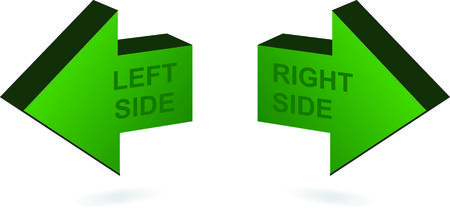 arow: Left and Right side