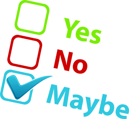 yes no: Yes No Maybe Icon