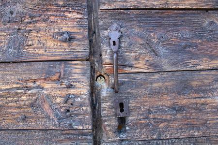 old wood texture from barn door 版權商用圖片