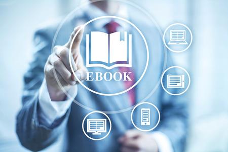 Ebook concept illustratie leesapparaten